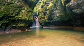 La Tine de Conflens Royalty Free Stock Photography