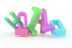 La tipografia astratta del cgi, carattere alfabetico rappresenta la lettera di ABC Carta da parati per progettazione grafica royalty illustrazione gratis