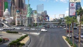 La tira de Las Vegas Imagenes de archivo
