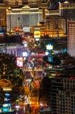 La tira de Las Vegas Foto de archivo libre de regalías