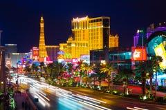 La tira en Las Vegas Imagen de archivo