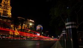 La tira en Las Vegas y la libertad fotos de archivo
