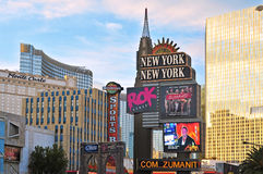La tira, Las Vegas, Estados Unidos imagen de archivo