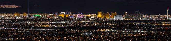 La tira, Las Vegas Nevada Fotografía de archivo