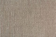 La toile naturelle a barré le backgrou renvoyant texturisé non coloré de toile Photographie stock