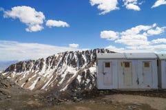 La toilette al passaggio di Khardungla (il più passa-alto nel mondo), L Immagine Stock Libera da Diritti