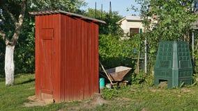 La toilette del giardino nello stile rurale Immagini Stock Libere da Diritti
