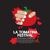 La Tomatina Festival Royalty Free Stock Photos