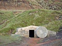 La tomba. fotografia stock