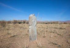 La tomba antica di una gente nomade Fotografia Stock Libera da Diritti