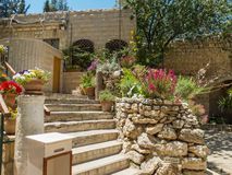 La tomba del giardino a Gerusalemme, Israele immagine stock libera da diritti