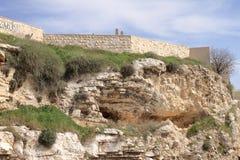 La tomba del giardino - Gerusalemme - Israele immagine stock libera da diritti