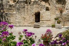 La tomba del giardino a Gerusalemme, Israele immagini stock