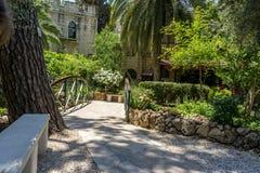 La tomba del giardino a Gerusalemme, Israele fotografia stock