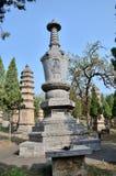 La tomba del monaco di chiarimento Immagini Stock Libere da Diritti