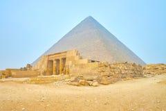 La tomba della regina Meresankh III nel complesso di Giza, Egitto fotografie stock libere da diritti