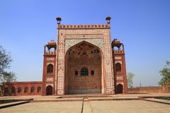 La tomba di Akbar Fotografie Stock Libere da Diritti