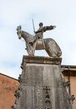 La tomba di Cansignorio, uno di cinque tombe gotiche di Scaliger, o dell'arché Scaligeri, a Verona fotografia stock libera da diritti