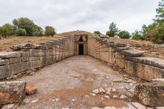 La tomba di Clytmenestra fotografia stock libera da diritti