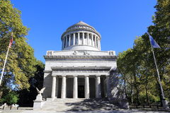 La tomba di Grant a New York Immagini Stock Libere da Diritti