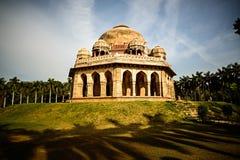 La tomba di Mohammed Shah nei giardini di Lodi fotografia stock libera da diritti