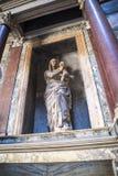 La tomba di Raphael nella costruzione del panteon a Roma Italia Immagine Stock
