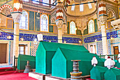 La tomba di Sultan Selim II immagine stock libera da diritti