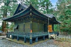 La tomba di Tokugawa Ieyasu nel santuario di Tosho-Gu a Nikko, Giappone fotografia stock