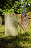 La tomba di un soldato Fotografie Stock