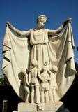 La tomba di una madre a Firenze, Italia immagini stock