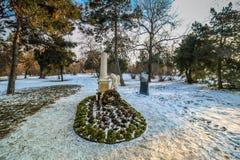 La tomba di Wolfgang Amadeus Mozart Immagine Stock Libera da Diritti
