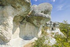 La tomba thracian della roccia fotografia stock