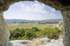 La tomba thracian della roccia fotografie stock libere da diritti