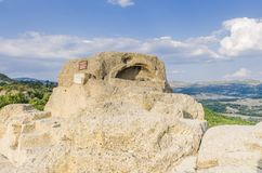 La tomba thracian Tatul fotografia stock libera da diritti