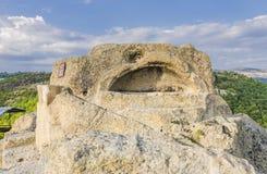 La tomba thracian Tatul immagini stock