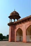 La tombe d'Akbar le grand, Âgrâ Image libre de droits