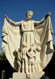 La tombe d'une mère à Florence, Italie Images stock