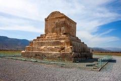 La tombe de Cyrus le grand image stock