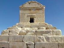 La tombe de Cyrus le grand est le monument le plus important dans Pasargad images stock