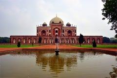 La tombe de Humayun célèbre à Delhi, Inde C'est la tombe de l'empereur Humayun de Mughal photos libres de droits