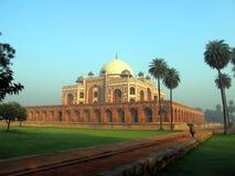 La tombe de Humayun - la perle de Delhi, le point de repère célèbre de l'Inde photographie stock