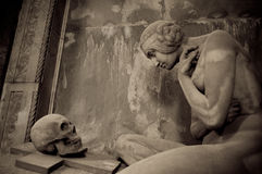 La tombe de Lavarello photo libre de droits