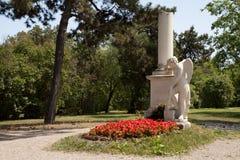 La tombe de Mozart Images libres de droits