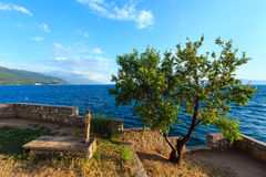 La tombe de St John chez Kaneo, Ohrid photo stock