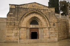 La tombe de Vierge Marie, Jérusalem, Israël Photo libre de droits
