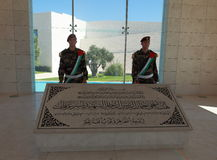La tombe de Yasser Arafat, Ramallah Image libre de droits