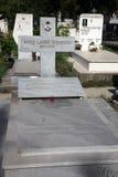 La tombe du père Blessed Mère Teresa de Calcutta au cimetière à Skopje Photos libres de droits
