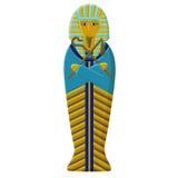 La tombe du pharaon de l'Egypte antique Sarcophage de Faro Maman de la règle égyptienne Photo libre de droits