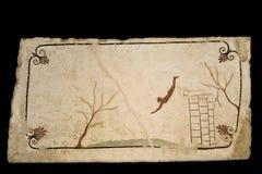 La tombe du plongeur, Paestum photos libres de droits