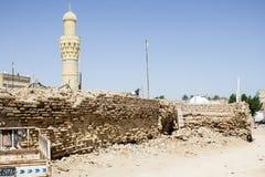La tombe du prophète Ezekiel ou en tant qu'elle s'appelle le prophète un Kifl Image libre de droits